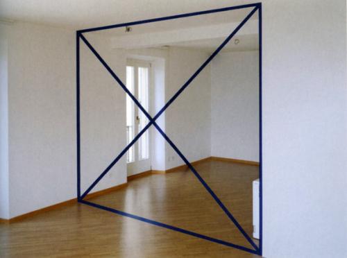 Illusion Inside Building